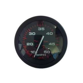 Amega 75mm Speedometer 10-50 mph w/ Pitot and Tube