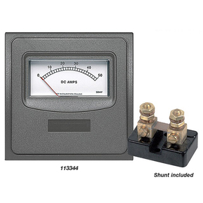 AM20 0-50amp Analogue Ammeter Panel w/20 amp Int.Shunt