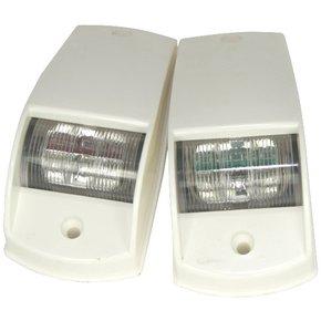 12v LED Port & Starboard Navigation Side Light Set-White