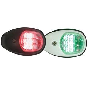 12v LED Port & Starboard Navigation Light Set - White