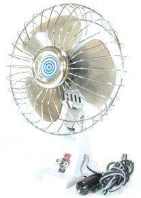 12v Oscillating Marine Fan - Base Mount