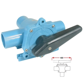 25mm 3-Way Diverter Valve for Boats