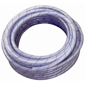 Premium 16mm Reinforced Clear Non-Toxic Water Hose -per metre