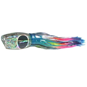 "Extreme Breakfast Game Lure- 24"" Blue Yellow Stripe  Rainbow"