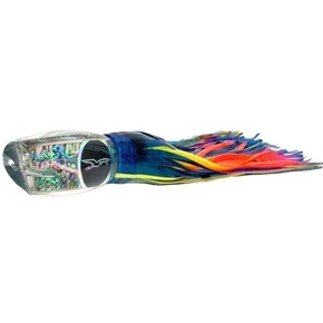 "Blue Breakfast Game Lure-17"" Blue Yellow Rainbow"