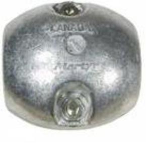 """Zinc Propellor Shaft Anode (oval) 28.5mm (1.1/8"""")"""