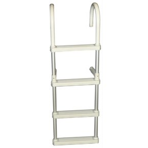 Alloy  Removable 4 Step Boarding Ladder (gunwhale)
