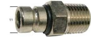 Outboard Fuel Tank Fitting  5-70hp - 8mm Barb
