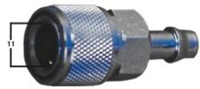 Outboard Fuel Line Fitting 5-70hp Female - 8mm Barb - Also Chrysler/Force
