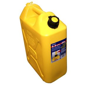 High Profile Diesel Fuel Can  - Yellow