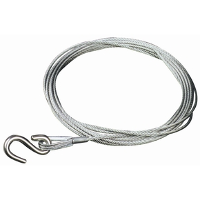 Trailer Winch Wire 4mm x 4.5mtr - 1000kg