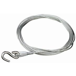Trailer Winch Wire 4mm x 4.5mtr - 1000kg