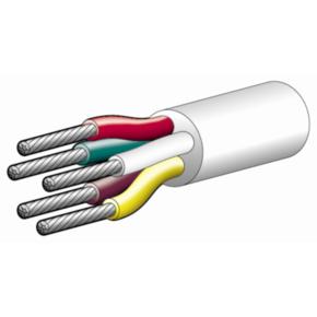 5 Core Wire with Black Sheath (P/Mtr) - 10 Amp