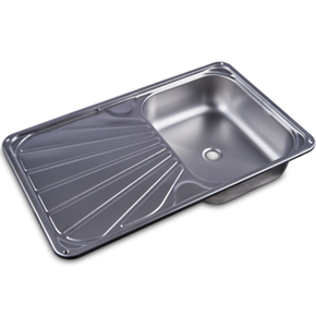 SS Sink with Drainer Tray- 650w x 400dmm