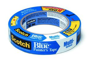 Long-Mask 2090: 60 day Blue Solvent Resistant Masking Tape 24mm