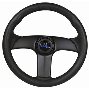"3 Spoke Viper Steering Wheel - 13.5"" - Black"