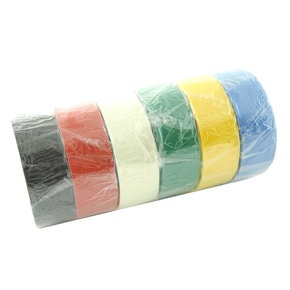 8 Metre Rolls Electrical Insulation Tape - 6-pk Assorted