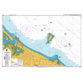 NZ5413 Navigation Chart - Approaches to Tauranga