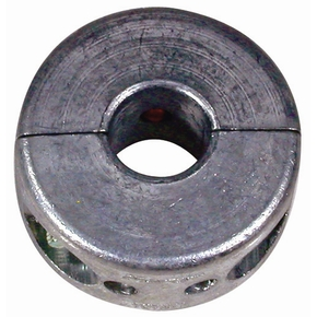 "Zinc Propellor Shaft Anode (square rounded) 32mm (1.1/4"")"