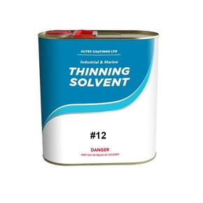 #12 Epoxy and ABC-5 Antifoul Spraying Thinner / Cleaner - 4L