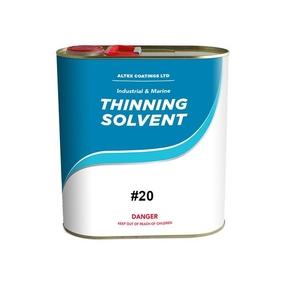 #20 Spraying Thinner for 2-Pk Polyurethane - 4 litre