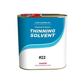 #22 Thinner/Cleaner for 2 Pack Polyurethane and Epoxy Primer - 1 litre