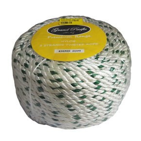 Anchor Rope Pack Nylon Spliced - 8mm x 50m