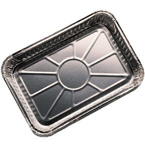 6415 Small Aluminium BBQ Drip Tray- 22 x 15cm 10-pk