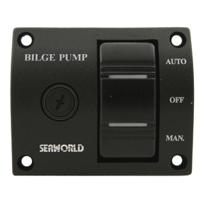 Bilge Pump Control Switch Panel 12 Volts
