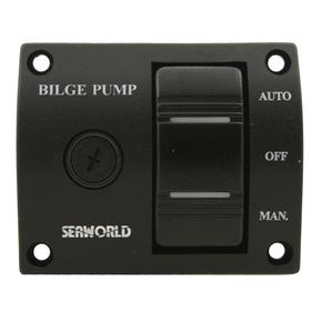 Bilge Pump Control Switch Panel 12V