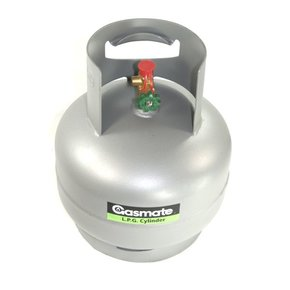 3KG Gas Cylinder/Bottle-Companion Fitting Camping/Boat