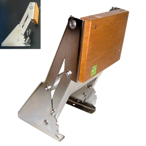 SS Rise & Fall Auxiliary Outboard Motor Bracket <25HP -Platform Mt