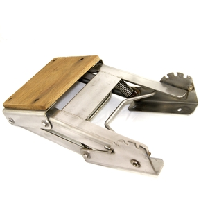 Stainless Steel Outboard Bracket - Suits up to 25HP