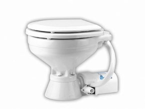 12v Electric Marine/RV Toilet Compact Bowl