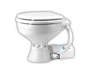 24v Electric Marine/RV Toilet Compact Bowl
