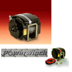 912 Electric Boat Trailer Winch 1350kg Pull - Boats To 3500kg