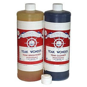 Teak Cleaner & Brightener Kit- 1ltr & 1 Ltr (2 Litre total)