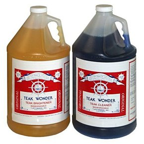 Teak Cleaner & Brightener Kit- 3.8ltr & 3.8ltr (7.6 Litre total)