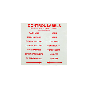 Sticker Control Labels