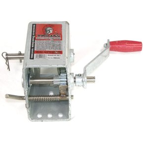 Manual Trailer Winch 2 Speed 5:1 1:1 - 750kg