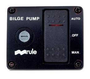 43: 3 Way Bilge Pump Switch Panel- 12volt