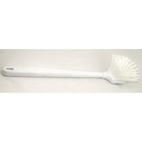 Long Handled White Gong Brush (Removable Handle)