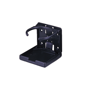 Folding Abs Adjustable Drinkholder - Black