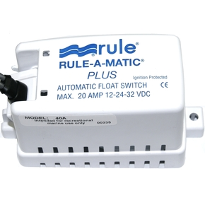 Rule-a-Matic Plus 40A Bilge Pump Float Switch 12/24v