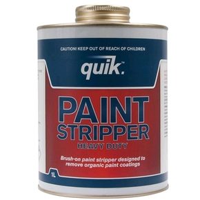 Quik Heavy Duty Brush On Paint Stripper- 1 litre