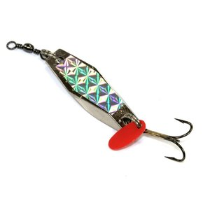 Hex Wobbler Spinner Lure- 20g (Treble Hook)