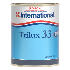 Trilux 33 Copper Free Hard Alloy Antifouling - Black - 1 Litre