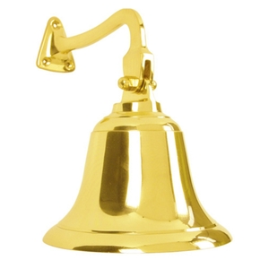 Brass Ship Bell with Bracket 140mm