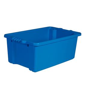 54L Fish Bin - Blue