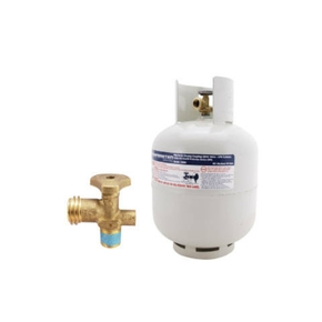 9kg Gas Cylinder / Bottle- POL / QCC Fitting (Camping / Boat / RV)